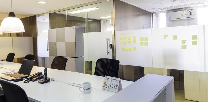 Salas Comerciais em espaço coworking - aluguel de escritório na Av. Paulista