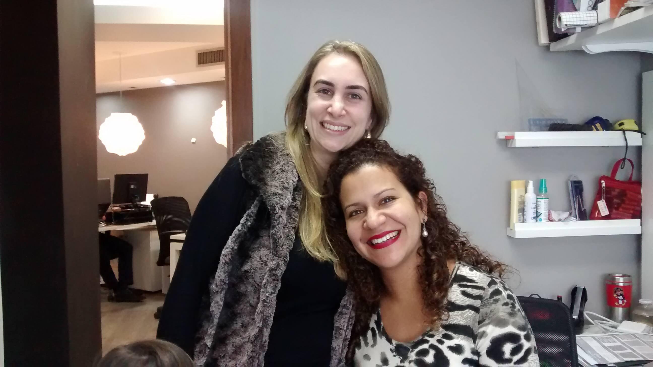 Tais Torezan e Gabriela Vergara