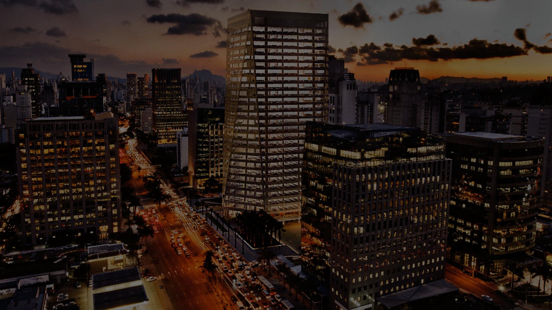 Avenida Brigadeiro Faria Lima é uma das áreas comerciais mais caras de São Paulo