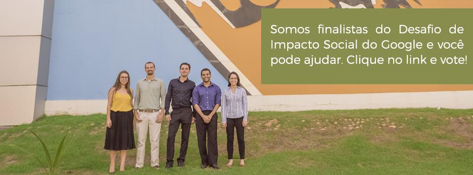 Perfil Goworker: Vetor Brasil é finalista do Desafio de Impacto Social Google 2016