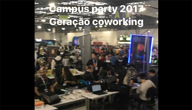 Campus Party e a economia compartilhada