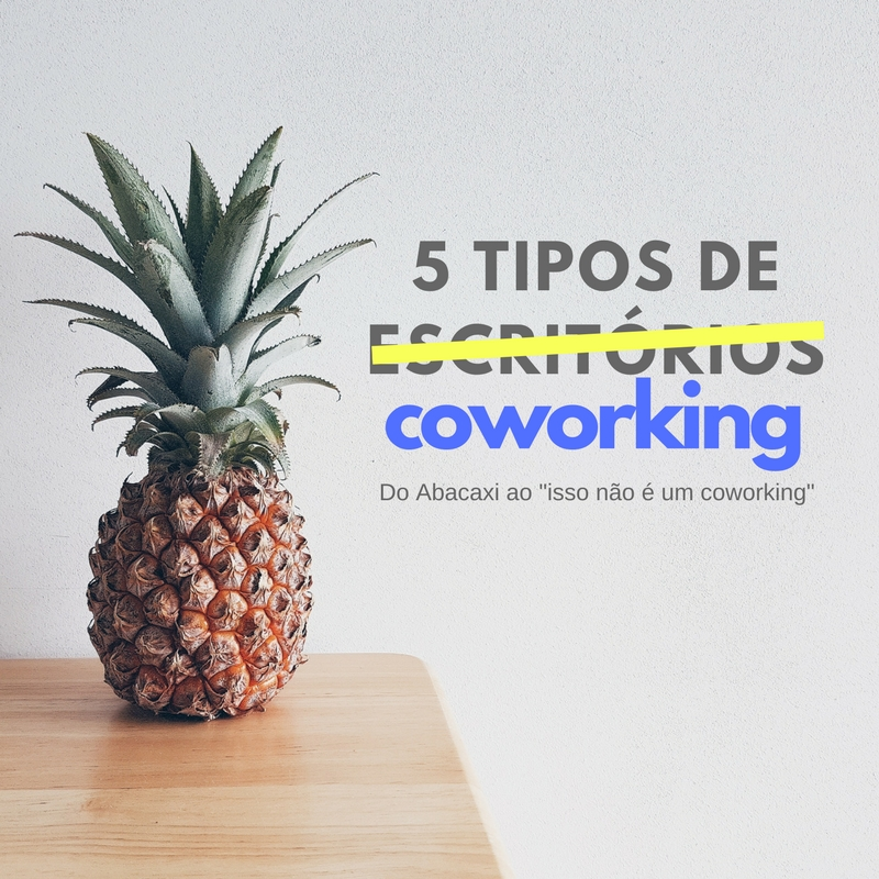 5 tipos de escritorio coworking