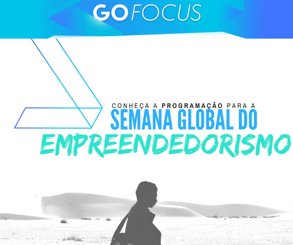 Programação da Semana Global de Empreendedorismo em SP. Conectam pessoas através de histórias