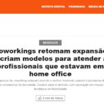 GoWork é destaque em matéria sobre retomada dos coworkings