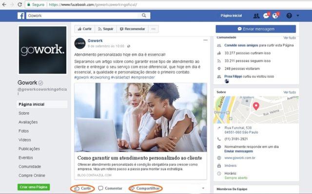Facebook Gowork
